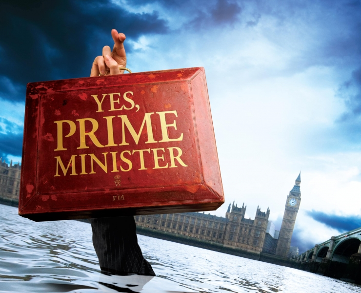 Yes Prime Minister - Cover Jim Hacker